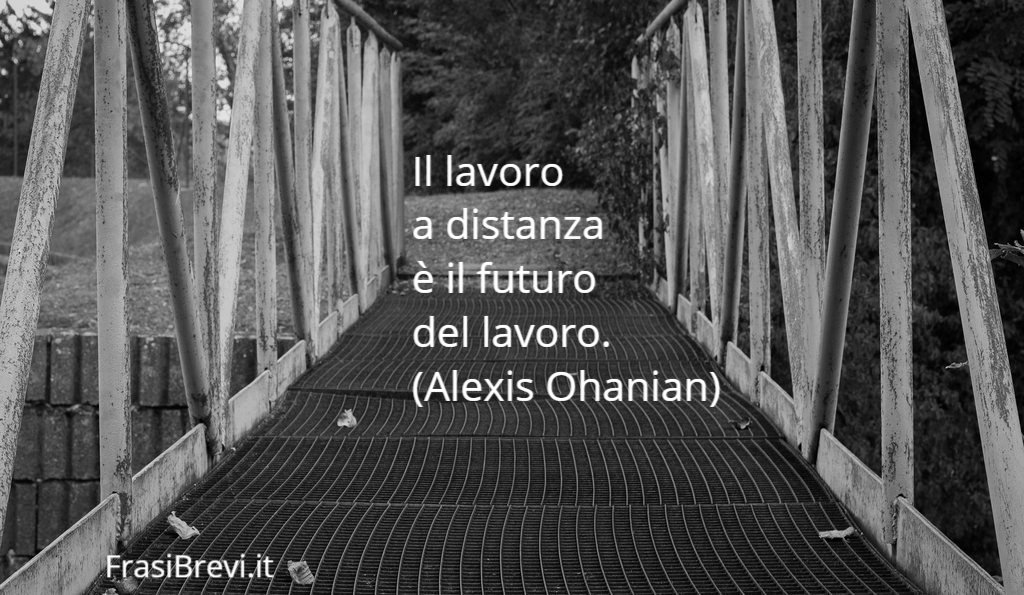 Frasi sullo Smart Working