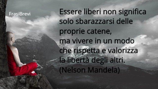 frasi sulla libertà di essere