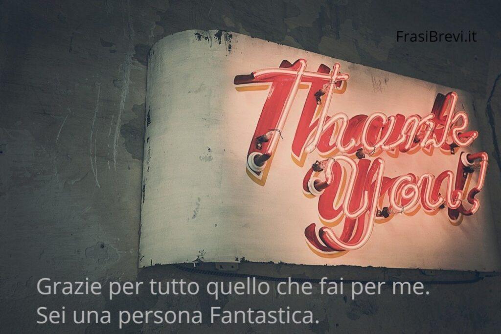 Frasi per ringraziare una persona speciale