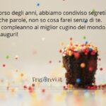 Frasi di Compleanno per un cugino: 22 Dediche di auguri