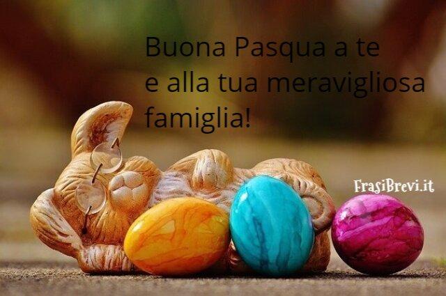 Buona Pasqua a te e alla tua meravigliosa famiglia!