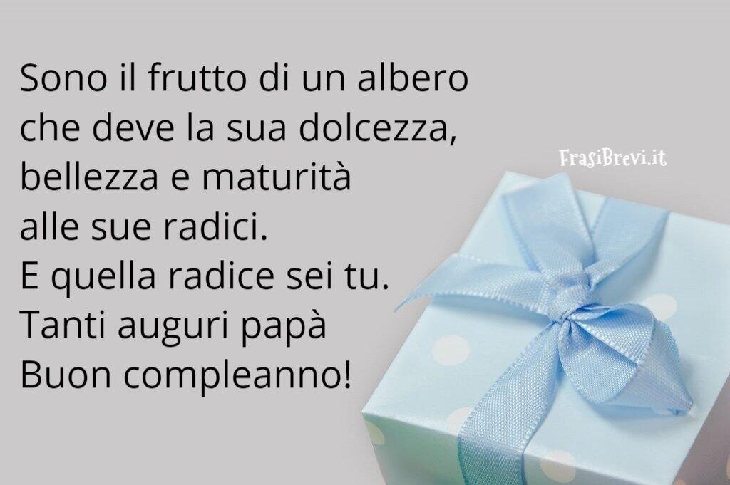 Compleanno per il papà frasi auguri