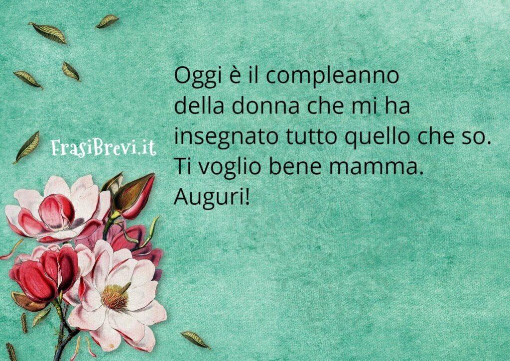 frasi Compleanno per la Mamma